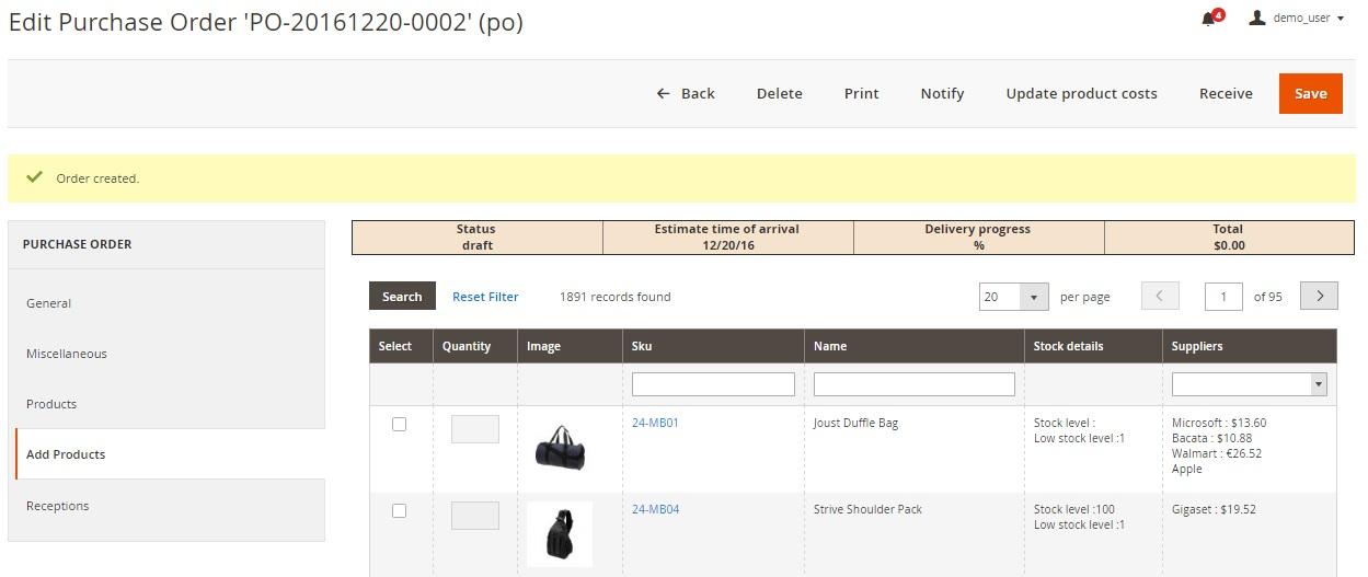 Boost My Shop Procurement Management Magento 2 Extension Overview; Boost My Shop Procurement Management Magento 2 Module Review