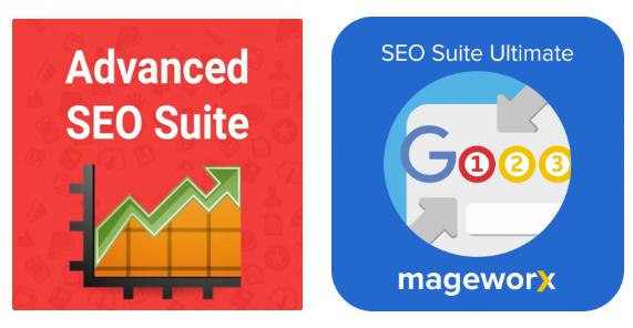 Magento 2 SEO Suites Comparison Mirasvit vs Mageworx