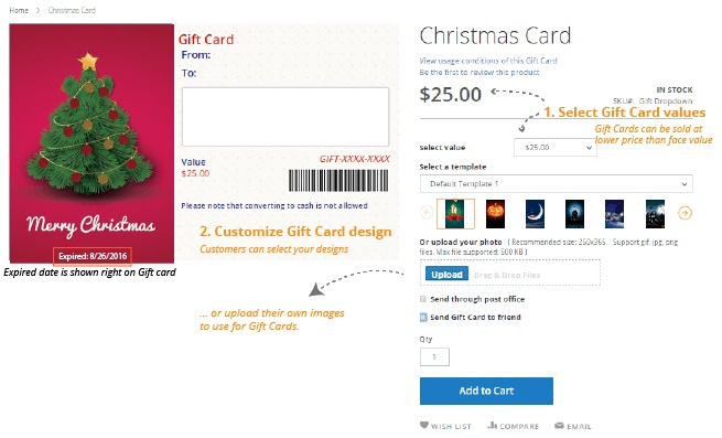 Magestore Gift Card Magento 2 Extension Review; Magestore Gift Card Magento 2 Module Overview