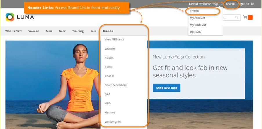Magestore Shop by Brand Magento 2 Extension Review; Magestore Shop by Brand Magento 2 Module Overview