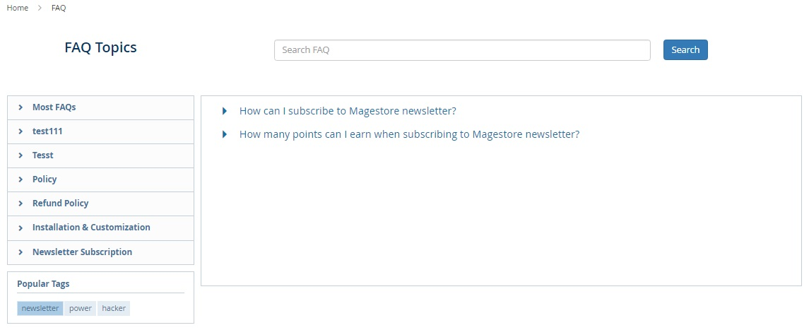 Magestore FAQ Magento 2 Extension Review; Magestore FAQ Magento 2 Module Overview