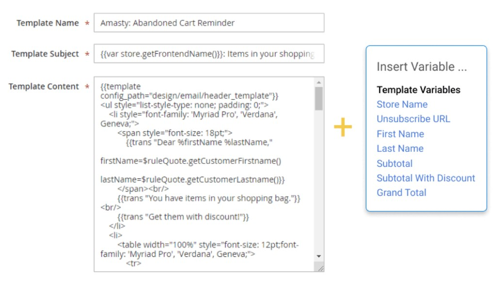 Amasty Abandoned Cart Email Magento 2 Extension; Amasty Abandoned Cart Email Magento Module