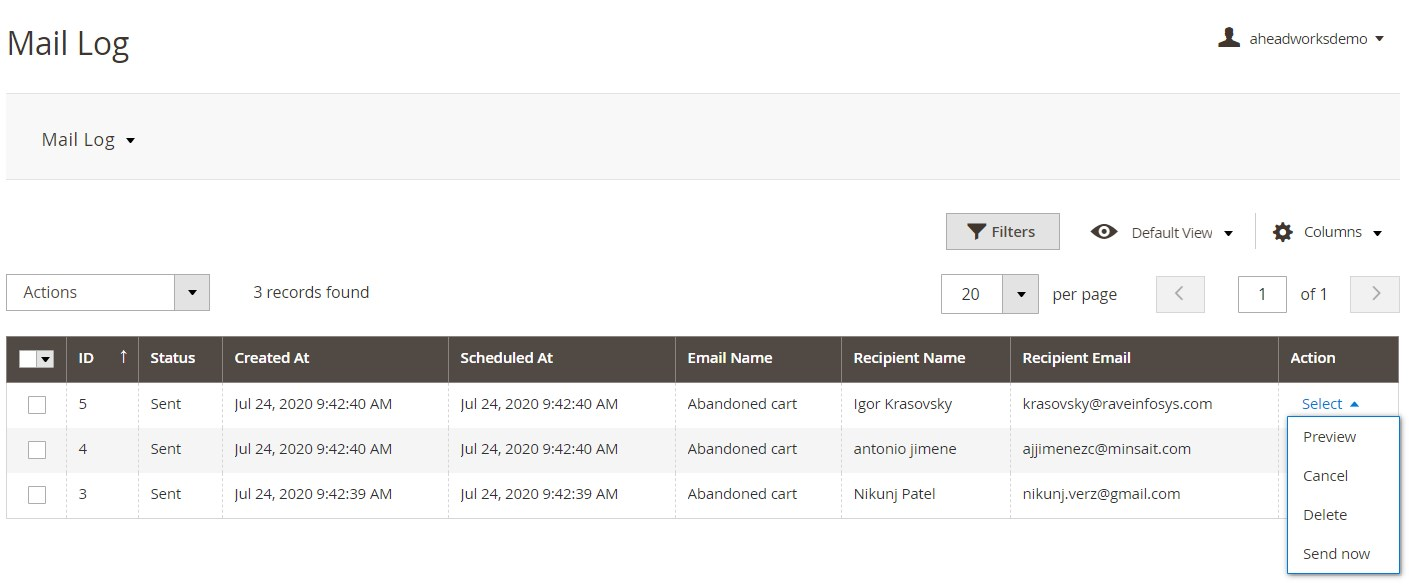 AheadWorks Abandoned Cart Email Magento 2 Extension Review
