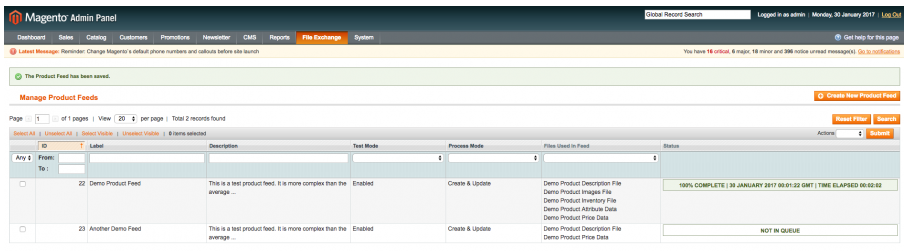Product Datafeed Magento Extension Module Review