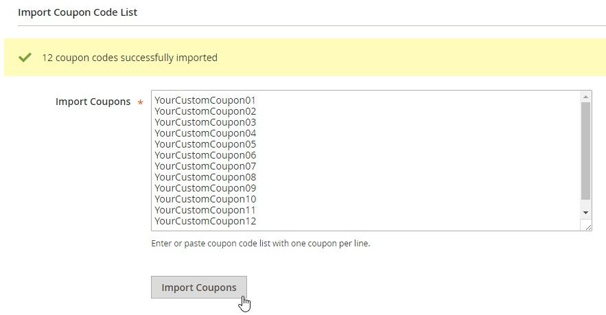Plugin Company Bulk Coupon Import Magento 2 Module
