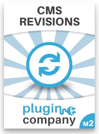 Plugin Company CMS Revisions Magento 2 Module