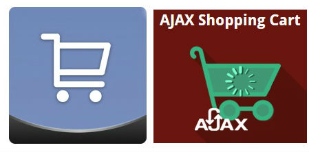 ajax shopping cart comparison