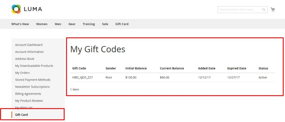 Magento 2 Gift Card Extensions