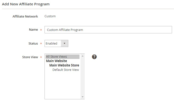 Affiliate Programs Magento 2 Extension Module