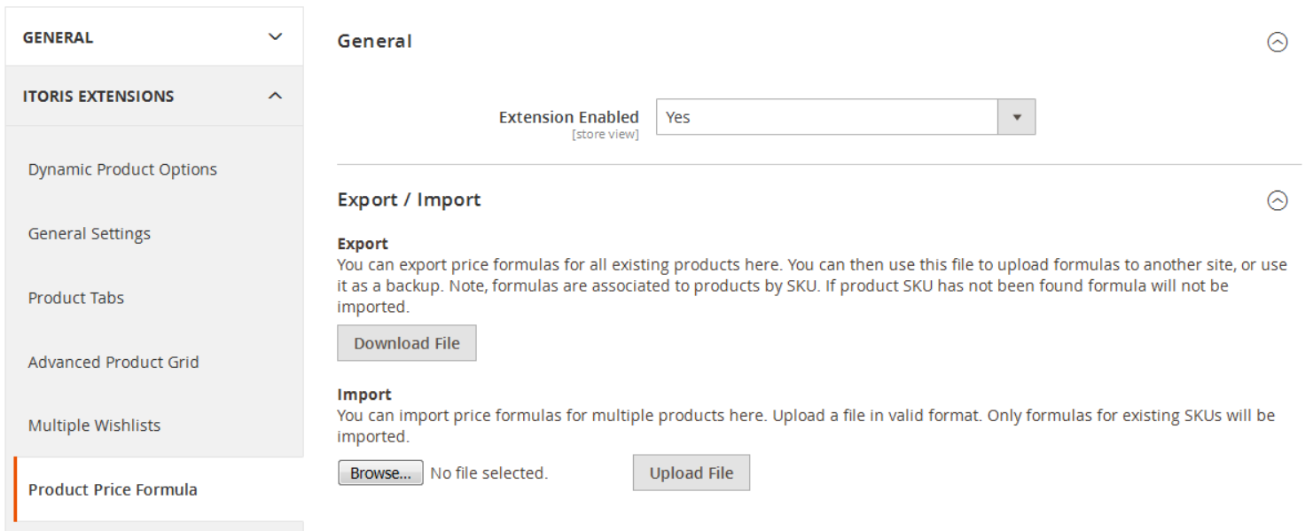 Product Price Formula Magento 2 Extension by ITORIS | FireBear