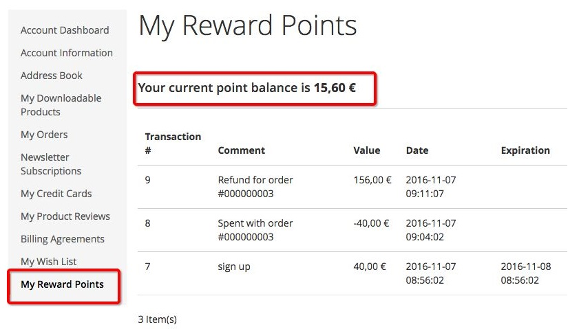 Reward Points Magento 2 Extension Module