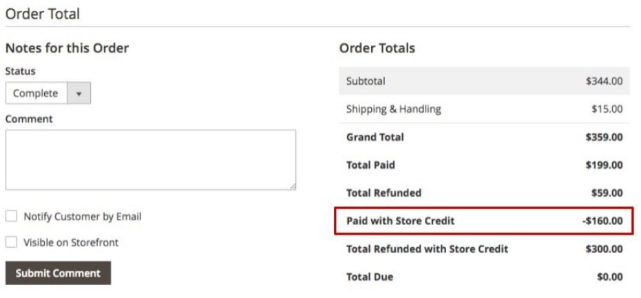 Store Credit Magento 2 Extension Module