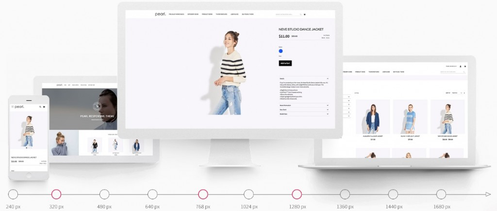 Pearl Magento 2 Theme Template