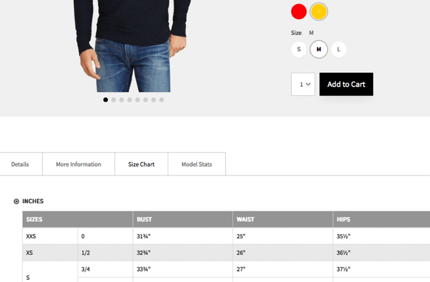 magento 2 product page tabs template