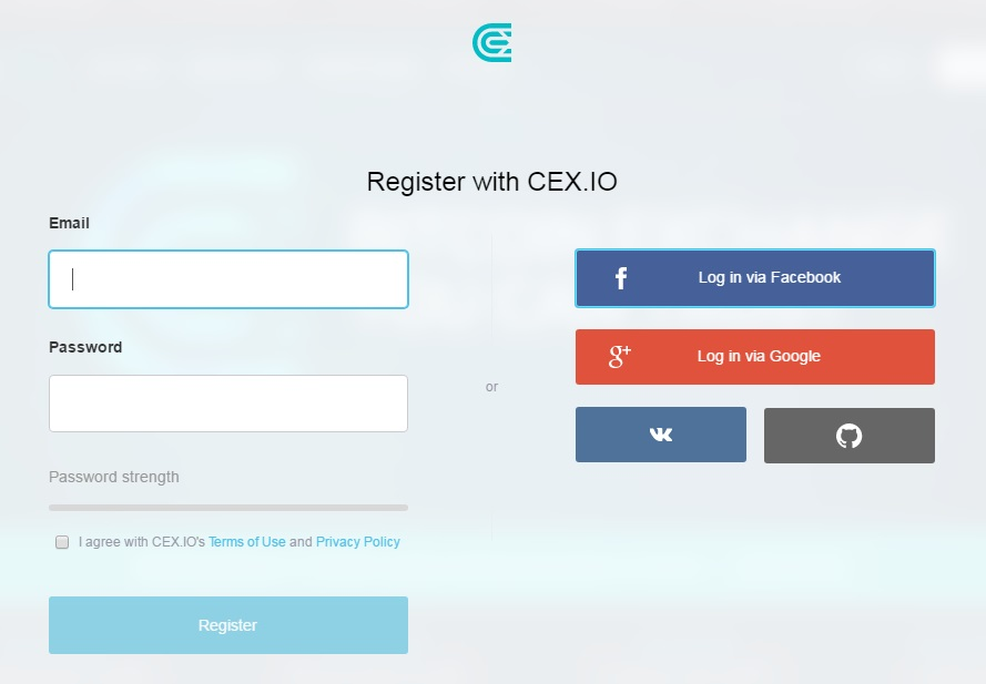 Buy Ethereum CEX.IO