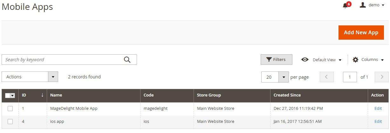 Magento 2 mobile app builder