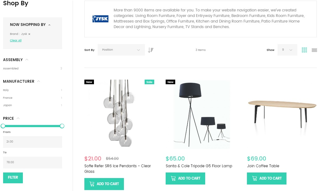 Furniture Store Magento 2 Theme