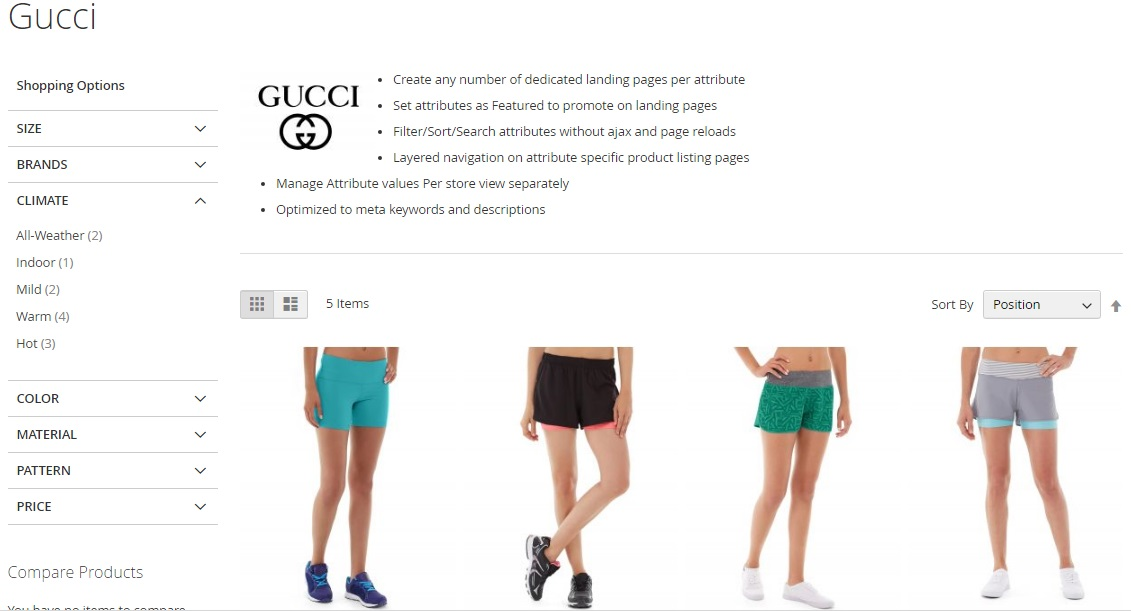 Magento 2 Shop By Attribute Extension