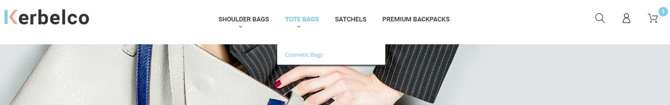 Fashion & Handbags Magento 2 template