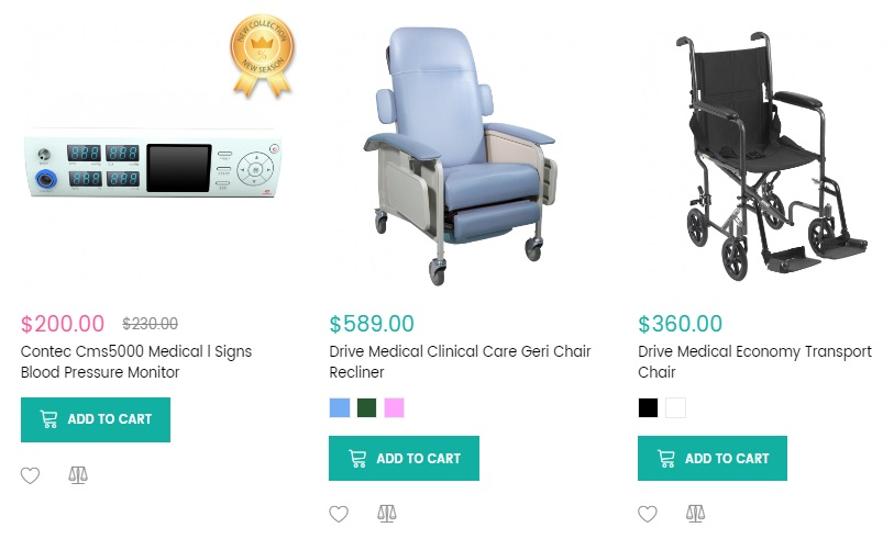Magento 2 Medical Equipment template