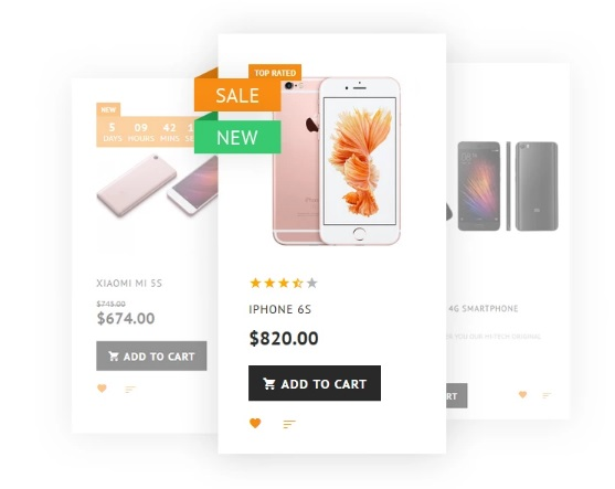 Mobile Store Magento 2 Theme (Smartphone, Tablet)