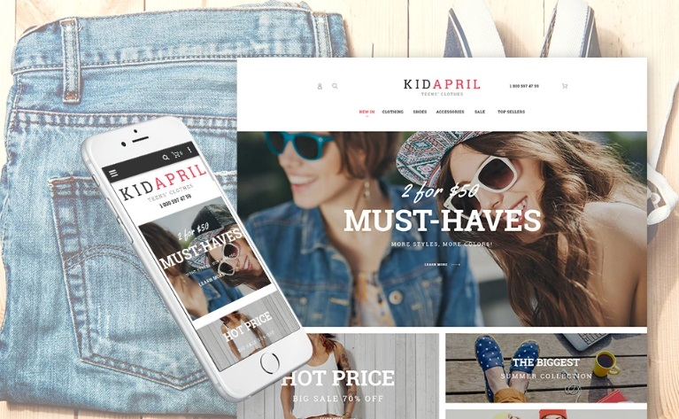 Magento 2 fashion store theme