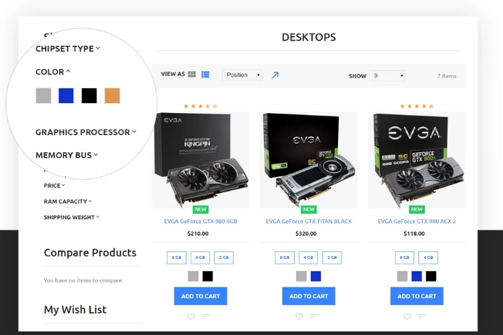 TemplateMonster iShop Electronic Store Magento 2 Template