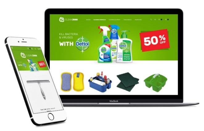 Magento 2 Cleaning Supplies and Tools Store Theme