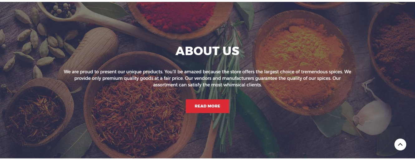 Spice Shop Magento 2 Theme