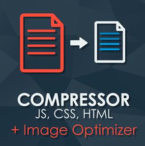 Magento CSS JS HTML Image Compressor
