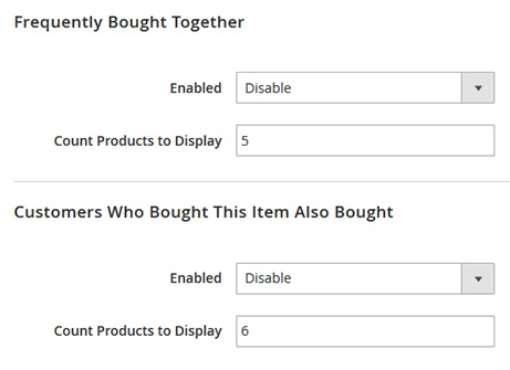 Magento 2 Sold Together Module