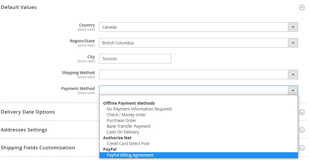 Magento 2 one page checkout module overview
