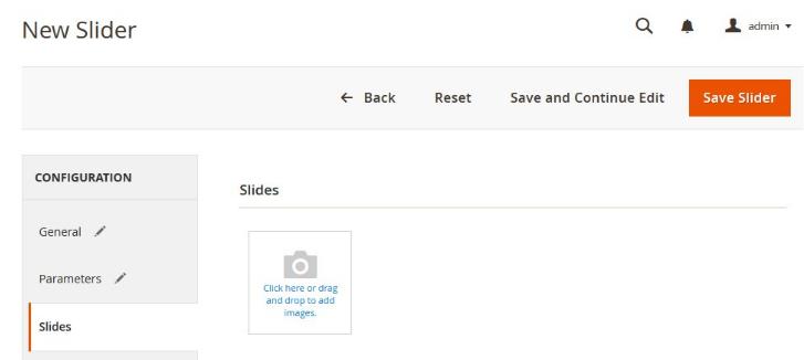 Magento 2 Image Slider Extension