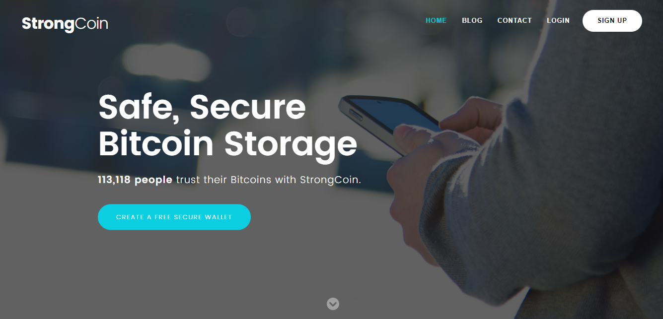 StrongCoin Ethereum Wallet
