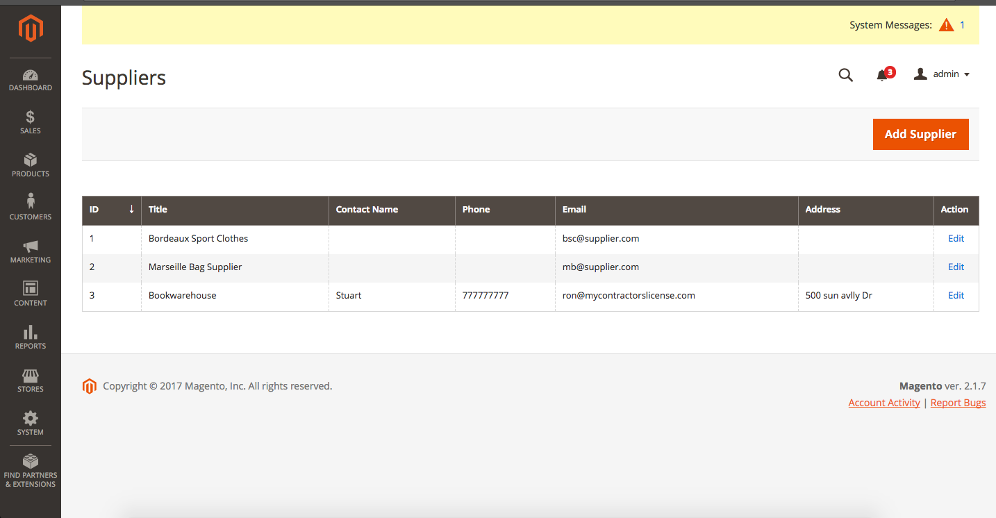 Magento 2 Multi Warehouse Inventory Extension