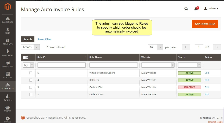 Magento 2 Auto Invoice & Shipment Extension