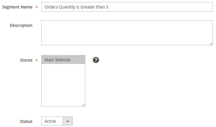 Magento 2 Customer Segmentation Extension