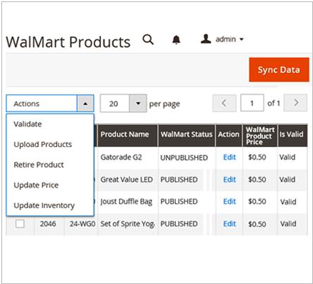 Magento 2 Walmart Integration