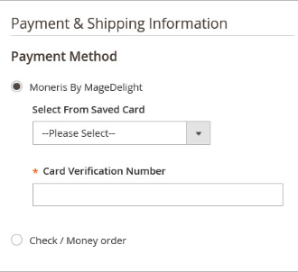 Magento 2 Moneris Payment Gateway Extension