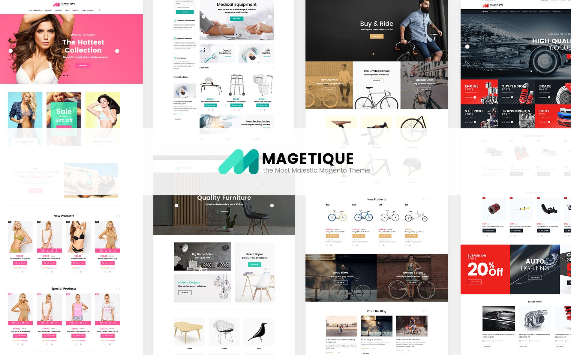 Magento 2 Themes; Magento 2 Templates