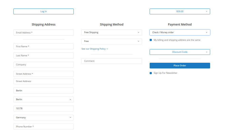 Magento 2 One Step Checkout Extension IWD