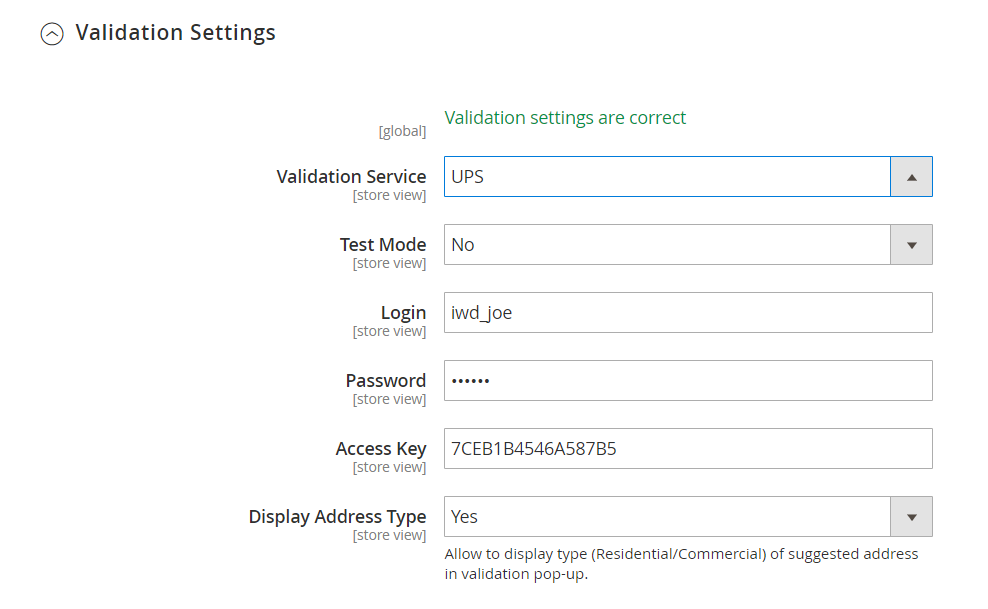Magento 2 address validation extension