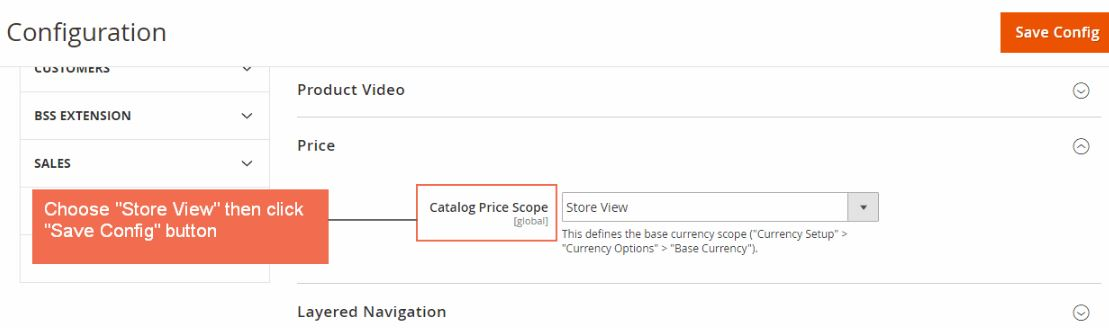 Magento 2 Multiple Store View Pricing extension