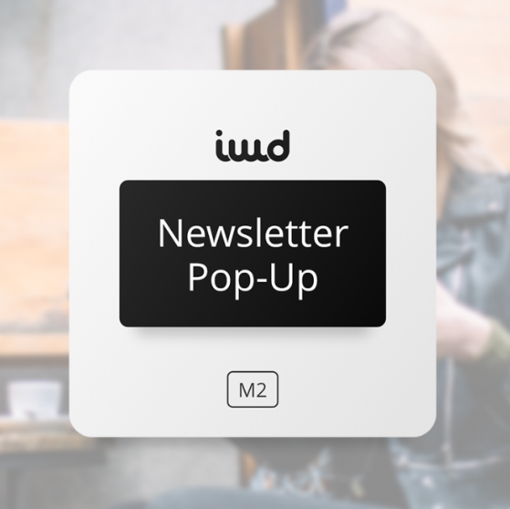 Magento 2 newsletter pop-up