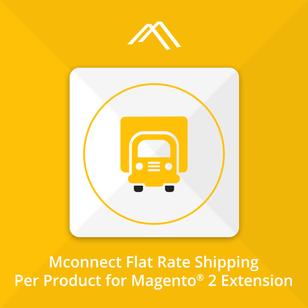 Magento 2 Flat Rate Shipping extension