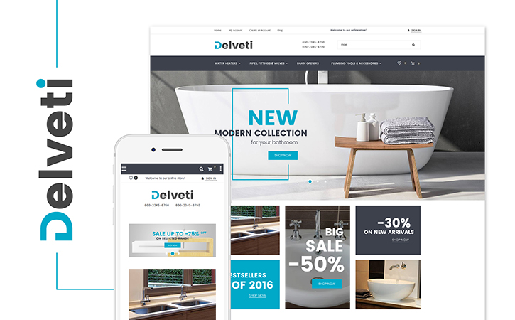 Plumbing Supply Magento Theme