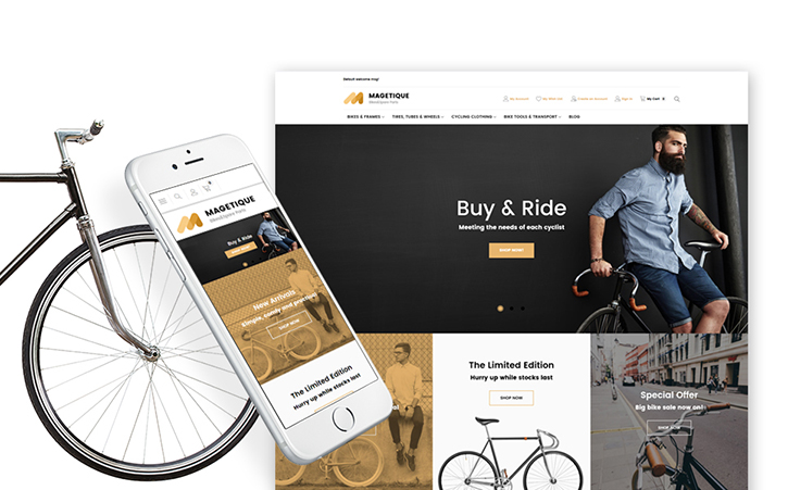 Bicycles & Bikes Magento 2 Store