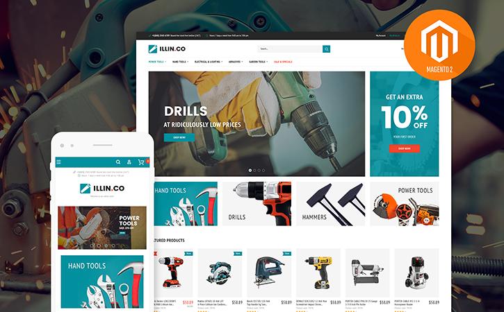 Tool Store Magento 2 Theme