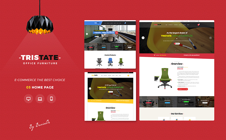 Tristate - Office Furniture Responsive Magento 2 Theme Magento Theme