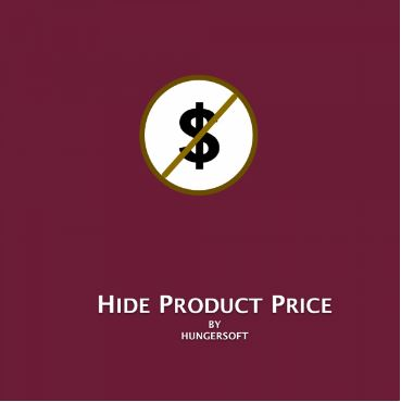 Magento 2 Hide Product Price Extension